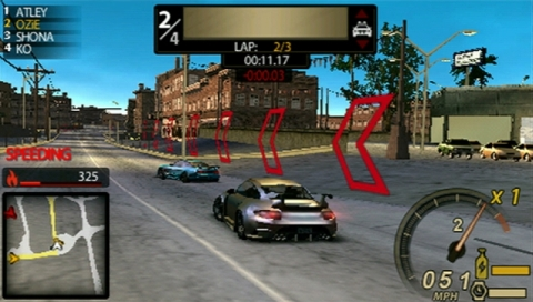 PSP Racing/Driving/Car games 20120910