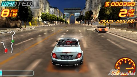PSP Racing/Driving/Car games 20121110
