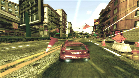 PSP Racing/Driving/Car games Burnou11