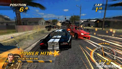 PSP Racing/Driving/Car games Flatou10
