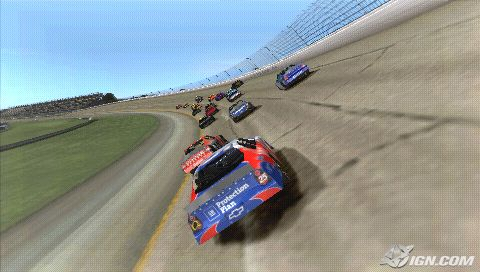 PSP Racing/Driving/Car games Nascar10