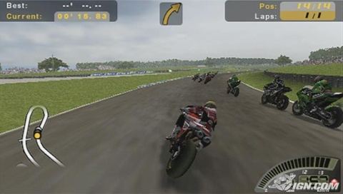 PSP Racing/Driving/Car games Sbk-su10