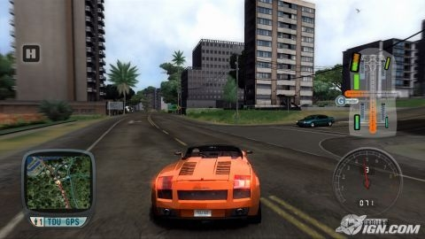PSP Racing/Driving/Car games Test-d10