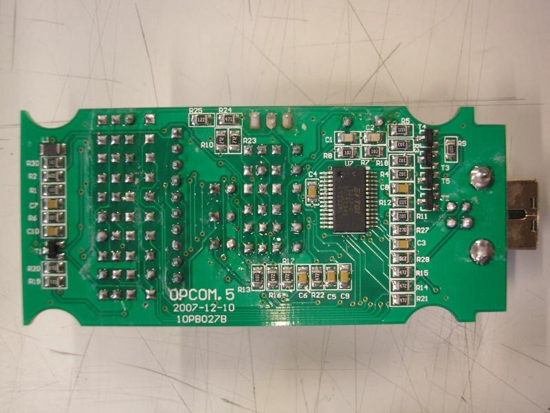 Réparation interface OPCOM HS! P9182714