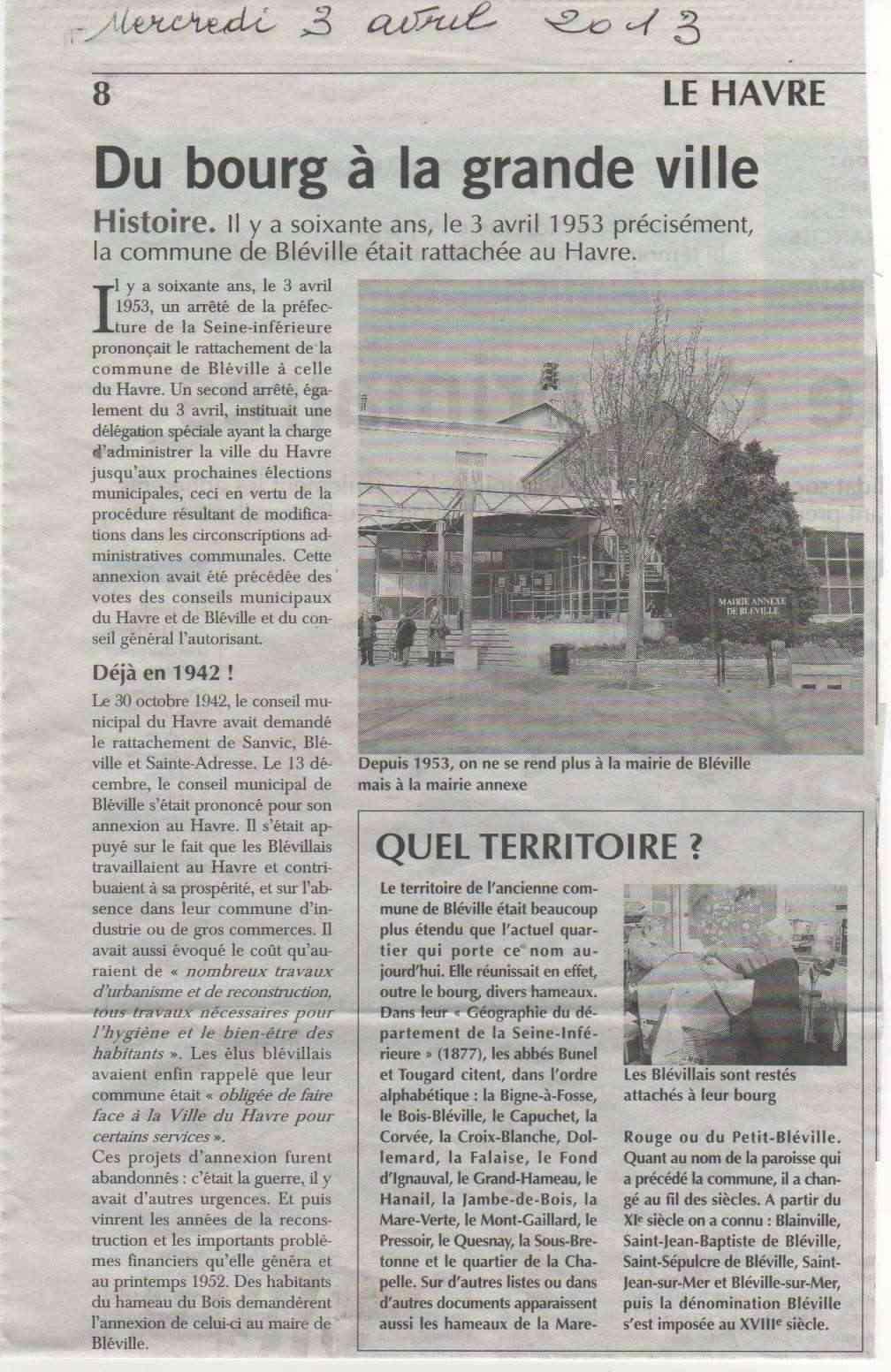 Abbé - Histoire des communes - Le Havre-Bléville Le_hav10