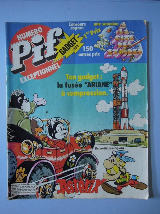 Astérix dans les magazines pour enfants Pif_na12