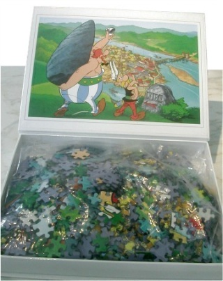 """puzzle Atlas """"la serpe d'or"""" Puzzle12"""