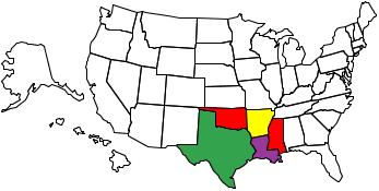 United States map of states you have visited !!! Visite10