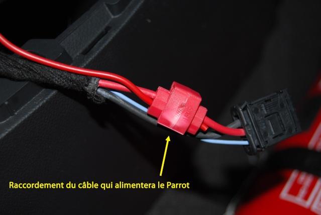 [Tuto] Intégration Parrot MKI9200 dans une Lag3 ph1 Dsc_0618