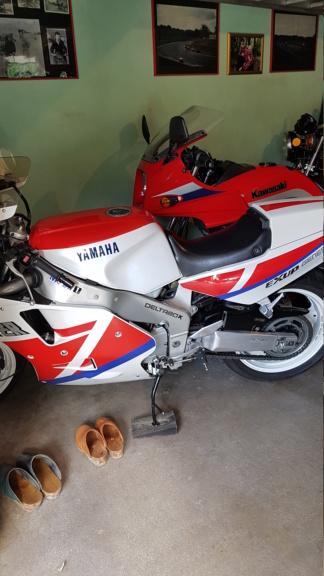 les motos d'un pote  Michel10