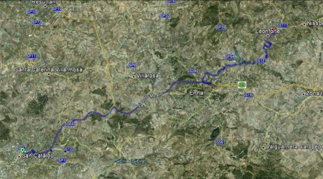 2° turno C. I. ritorno: leonfortese - Sancataldese 3-1 Satell10