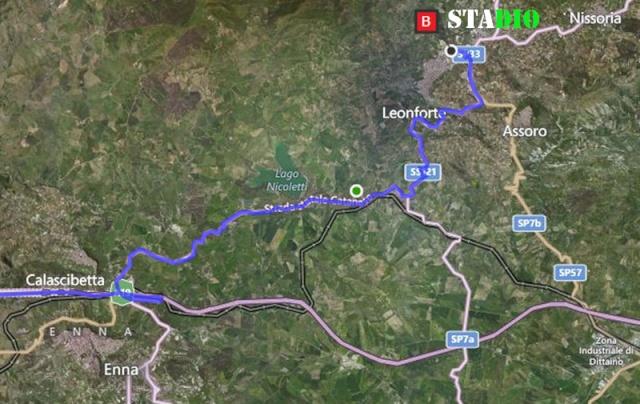 2° turno C. I. ritorno: leonfortese - Sancataldese 3-1 Satell11