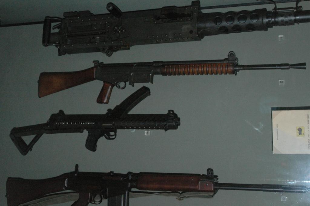 Fusil L1A1 Lightgow utilisé par l'Armée de la Nouvelle-Zélande Canada23