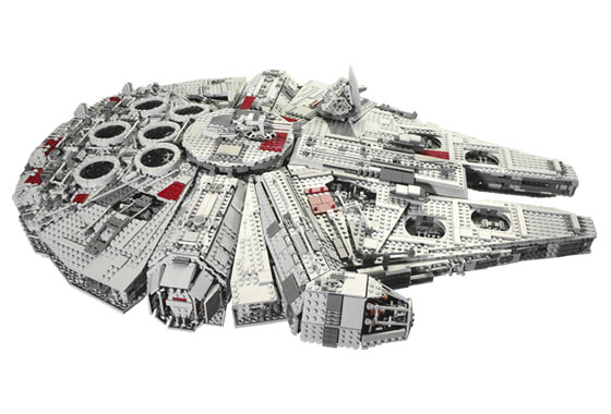 Lego - 10179 - UCS Faucon Millenium  10179-10