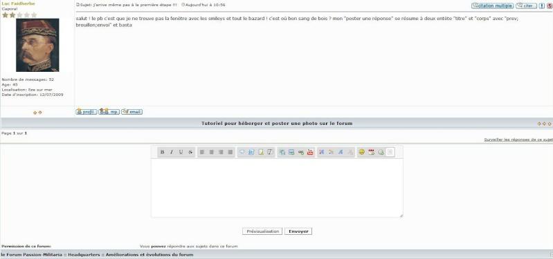 Tutoriel pour héberger et poster une photo/image sur le forum... mise à jour Captur25