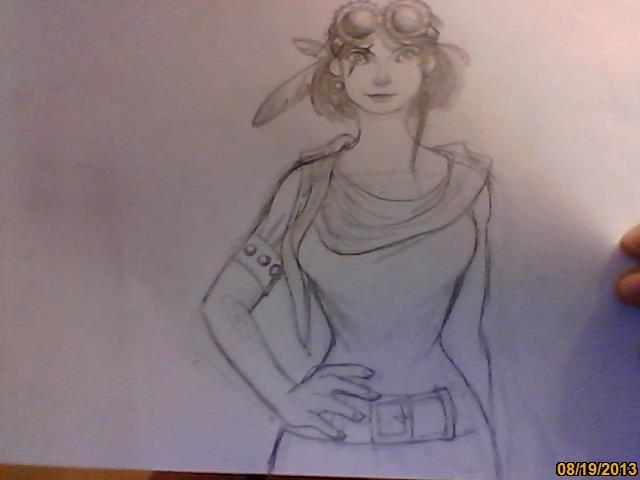 une madam qui fait peut-être un peu steam punk... [noony4] Image216