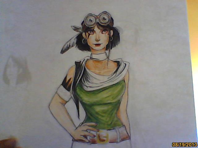 une madam qui fait peut-être un peu steam punk... [noony4] Image217