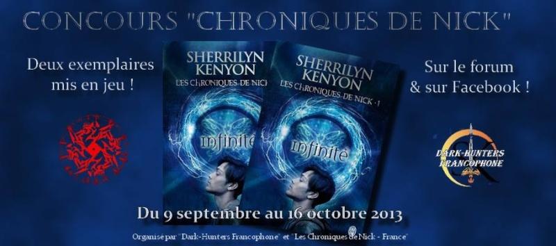 """Concours """"Les Chroniques de Nick, Tome 1, Infinité"""" 11753610"""
