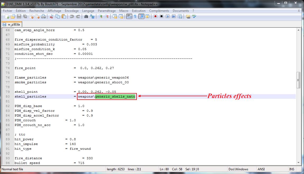 Log d'erreur dmx 1.3.4 Captur10