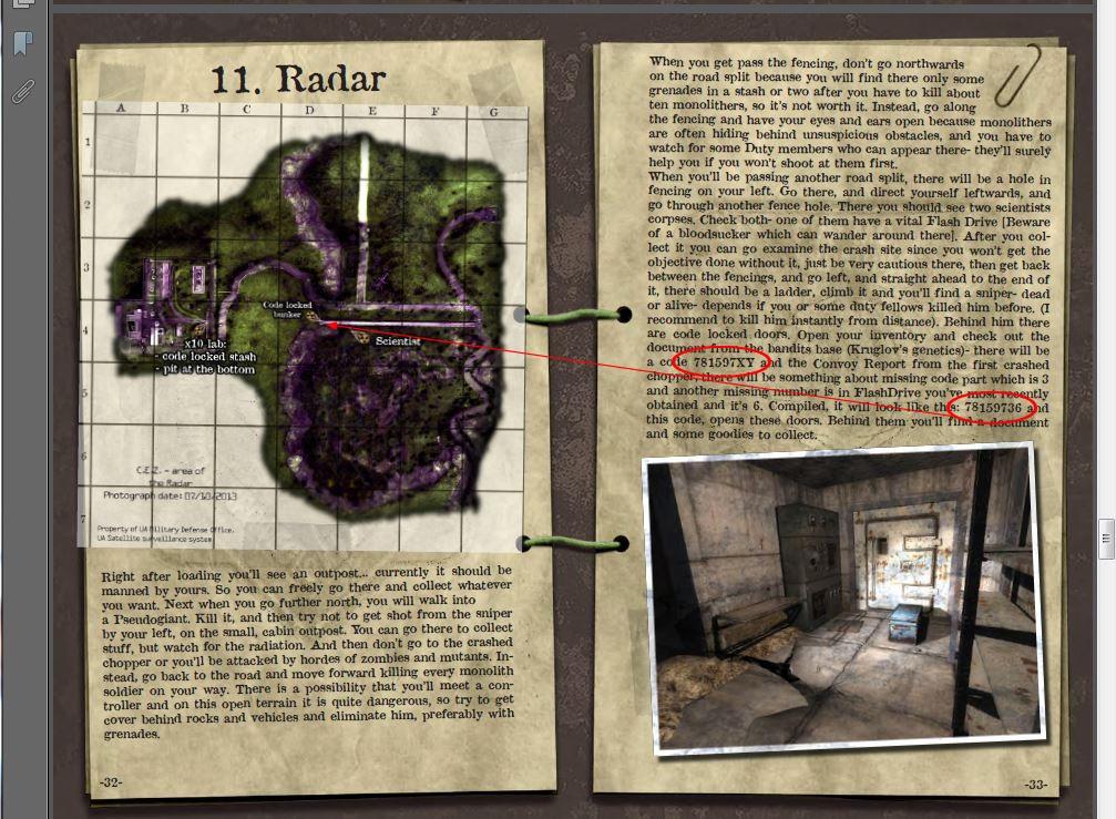 S.T.A.L.K.E.R - Priboi Story - Official Strategy guide+Bonus Features Captur20
