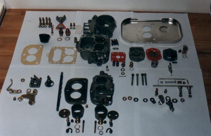 M180. Ремкомплекты для насоса и карбюратора. Carb_710