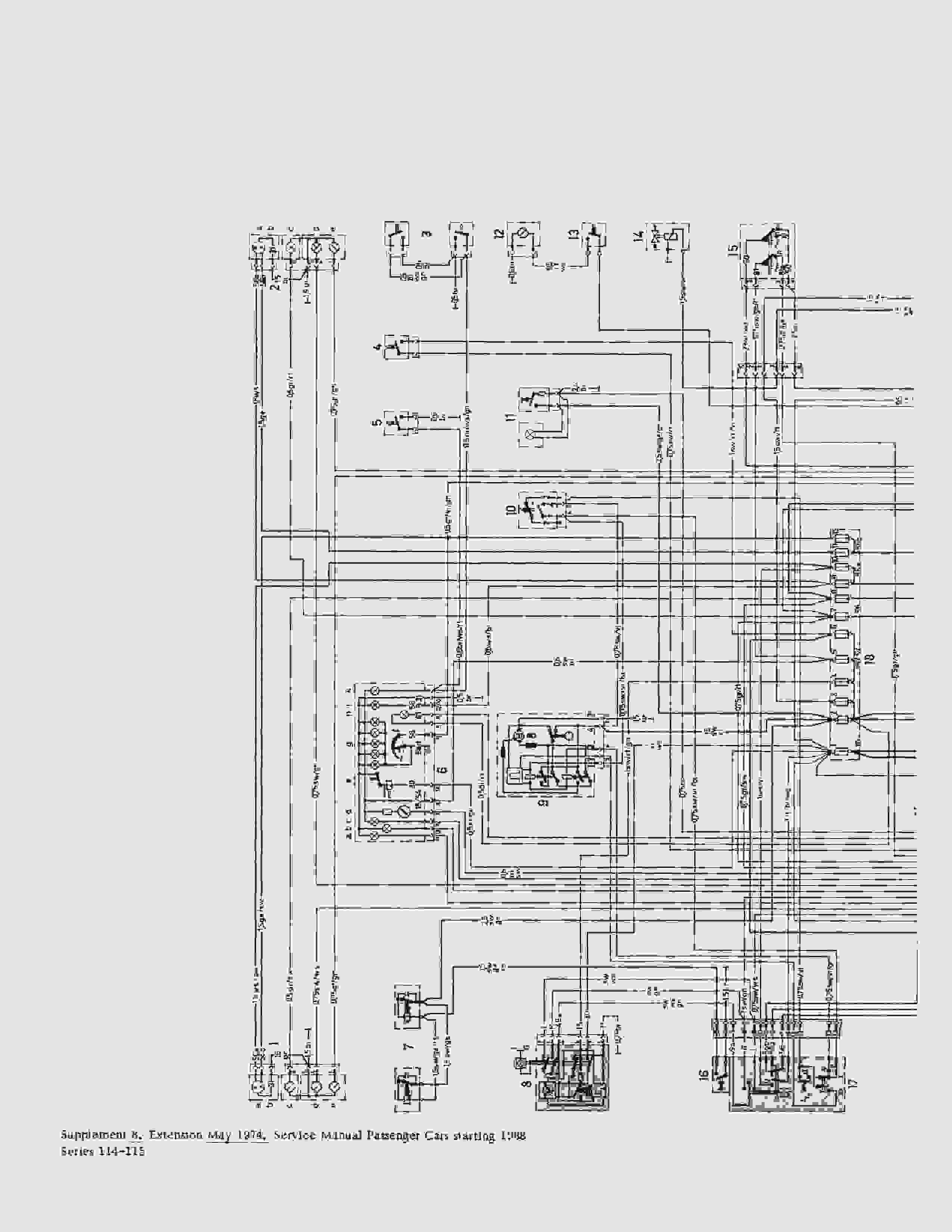 W115 220D электрическая схема (последняя серия). Nndudd10