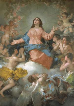 15 Août : Fête de L'Assomption de la Vierge. 128
