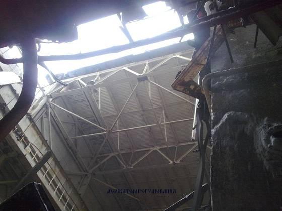 Tchernobyl : un toit de la centrale s'écroule, le personnel évacué 52579310