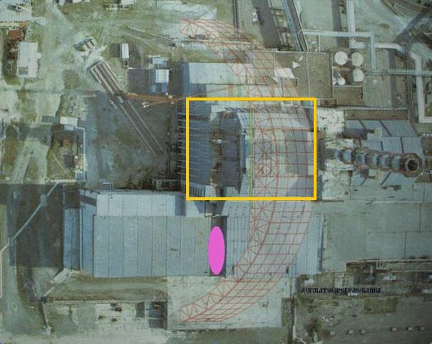 Tchernobyl : un toit de la centrale s'écroule, le personnel évacué 52595510