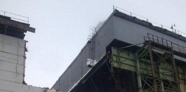 Tchernobyl : un toit de la centrale s'écroule, le personnel évacué 52600810