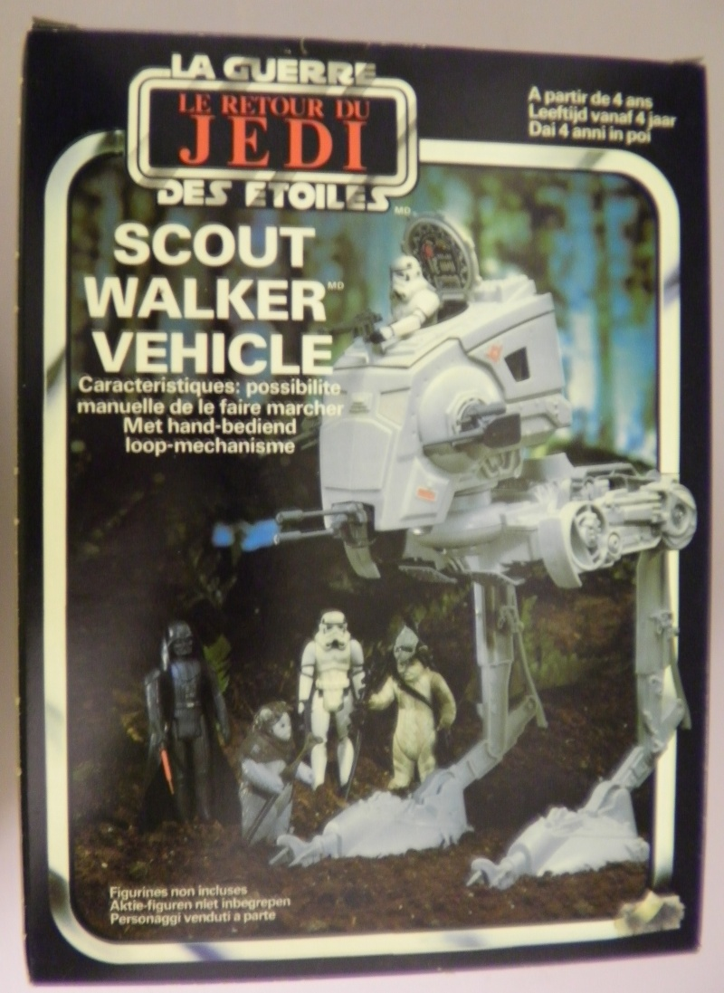 Any thoughts on the origins of this AT-ST box 311