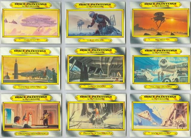 TRADING CARDS  Esb110