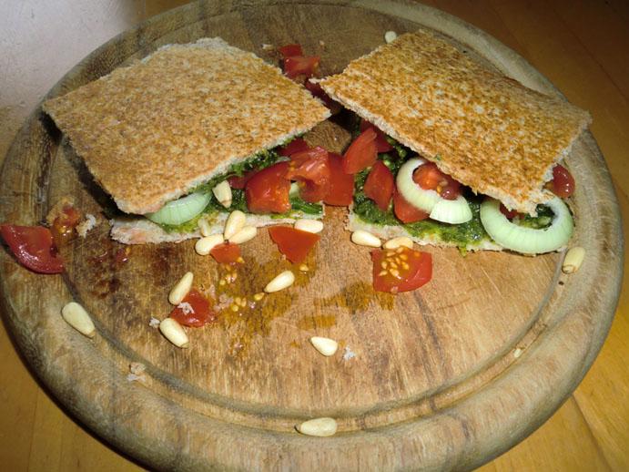 Was kann man leckeres essen (aka Bilderthread) - Seite 6 Panini10
