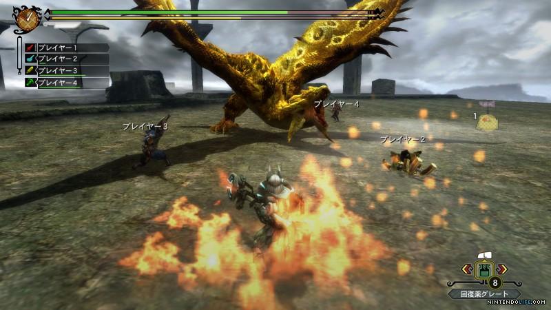 Monster Hunter 3 Ultimate Online Play Will Be Region Locked For Wii U! Mhtu10