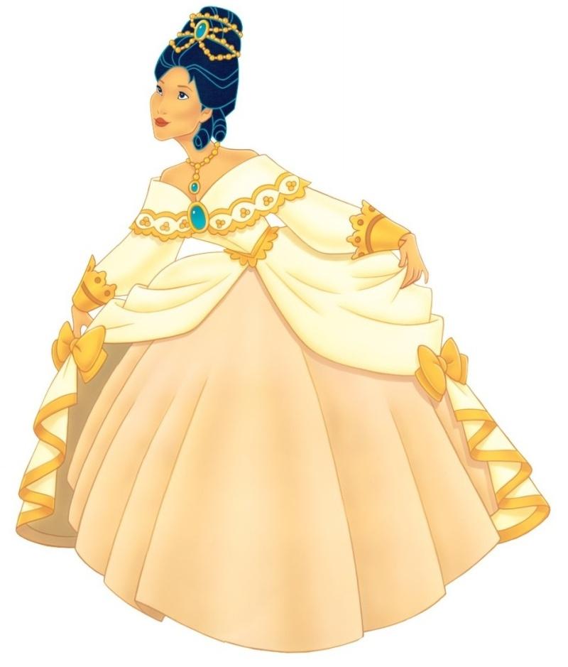 Quelle robe de Princesse rêvez vous de porter ? Pocaho10