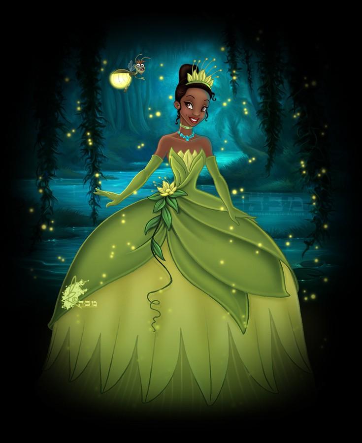 Quelle robe de Princesse rêvez vous de porter ? Tiana-10