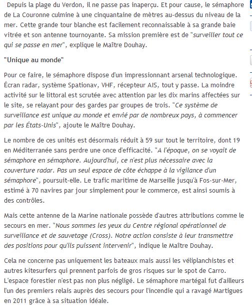SÉMAPHORE - CAP COURONNE (BOUCHES DU RHÔNE) - Page 2 Couron10
