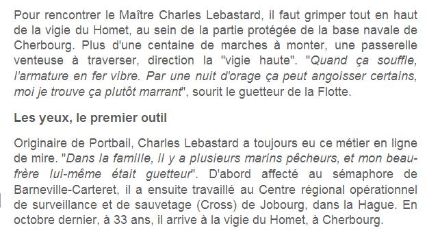 VIGIE DU HOMET (Cherbourg 50) H110