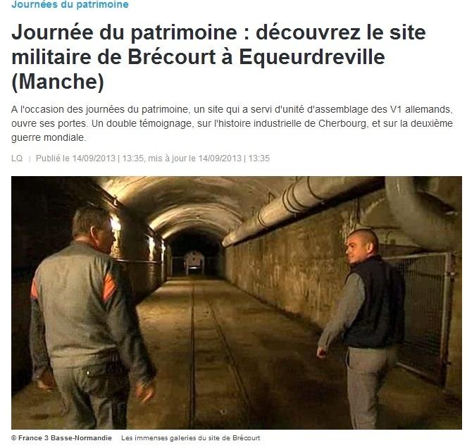 LE SITE DE BRECOURT A EQUEURDREVILLE (50) Zz10