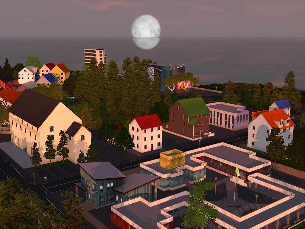 Monde sims : Aurora Skies Screen19