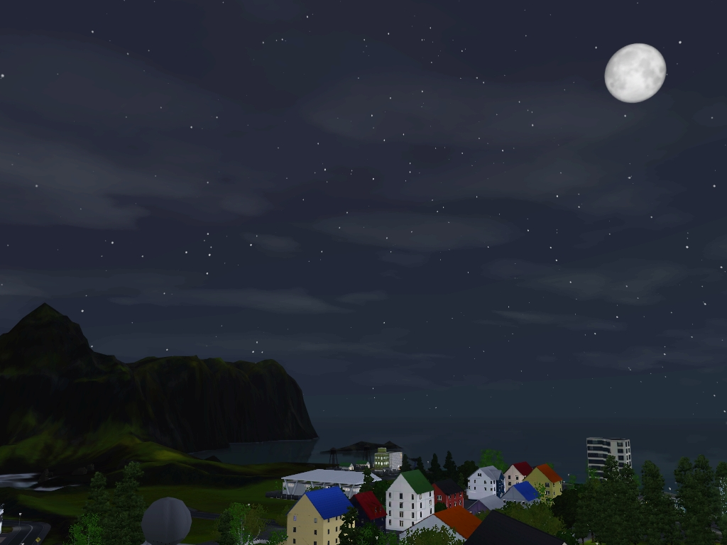 Monde sims : Aurora Skies Screen20