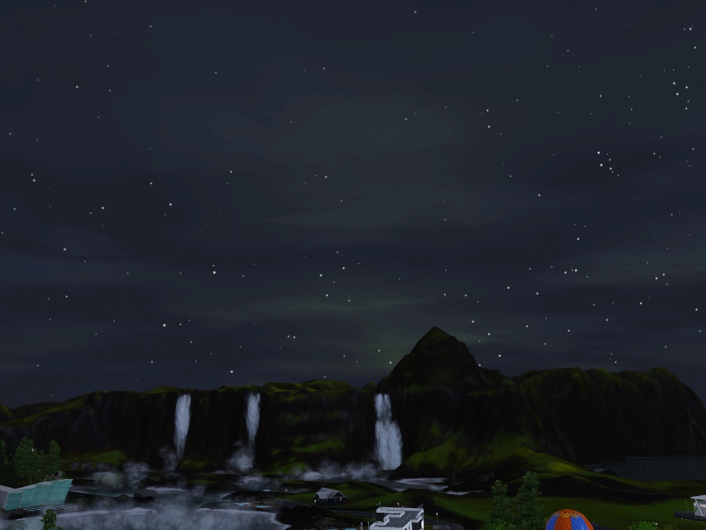 Monde sims : Aurora Skies Screen21