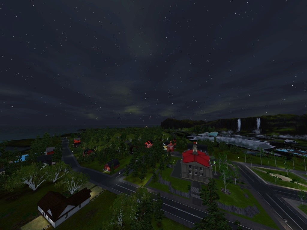 Monde sims : Aurora Skies Screen22