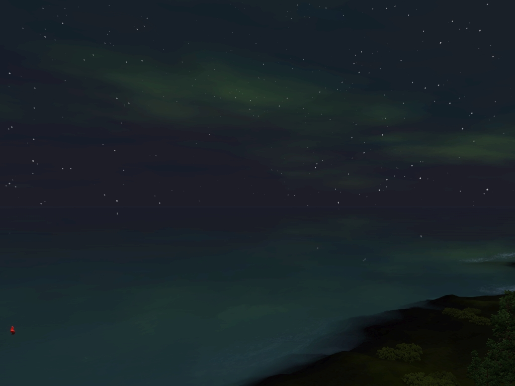 Monde sims : Aurora Skies Screen24