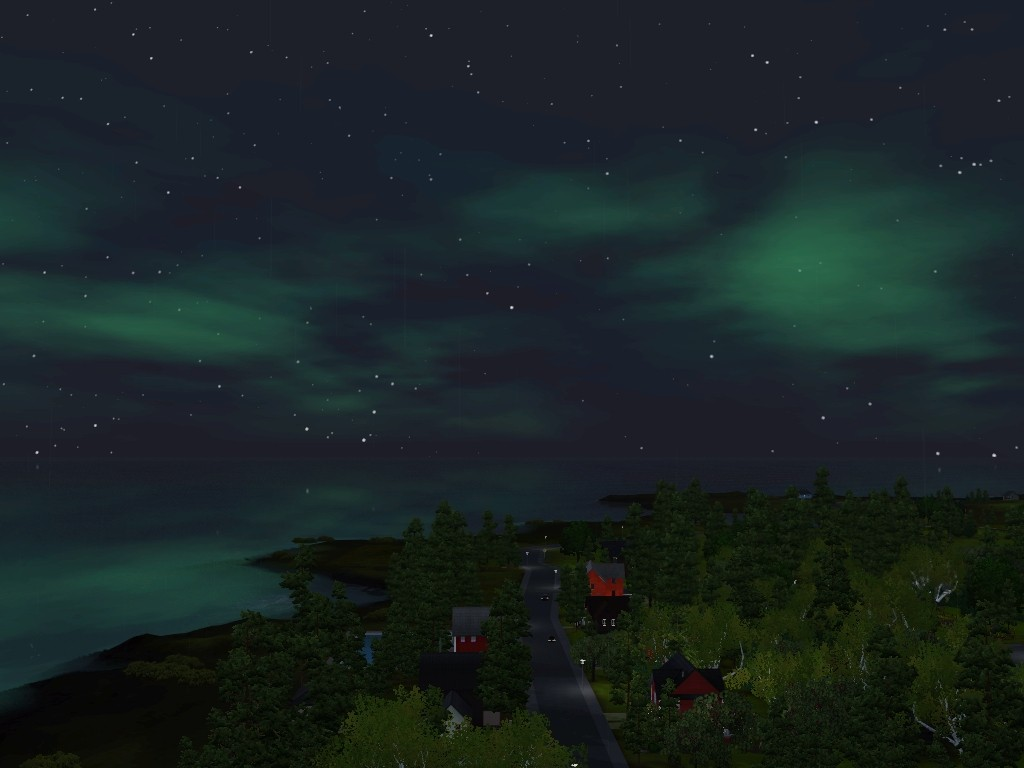 Monde sims : Aurora Skies Screen26