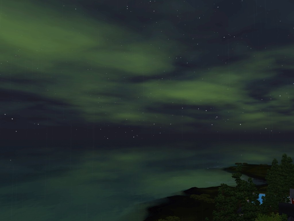 Monde sims : Aurora Skies Screen28