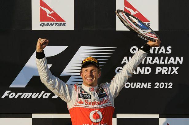 McLaren se lleva la primer victoria del año. Jenson10