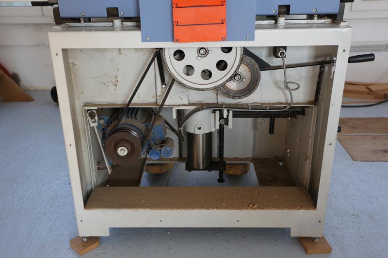 Motorisation table raboteuse (voir p.13) et amélioration R/D Holztech FS320 (première partie)  28_mar13