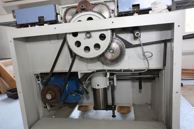 amélioration R D - Motorisation table raboteuse (voir p.13) et amélioration R/D Holztech FS320 (première partie)  28_mar19
