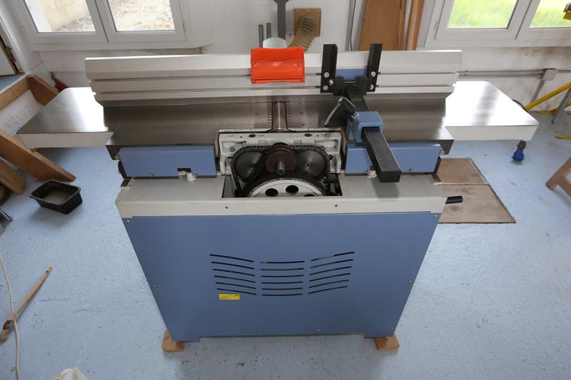 amélioration R D - Motorisation table raboteuse (voir p.13) et amélioration R/D Holztech FS320 (première partie)  28_mar21
